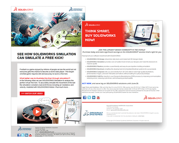SolidWorks generate qualified leads by using Digital Marketing Services of TraceParts
