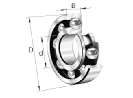 INA/FAG - Radial ball bearing