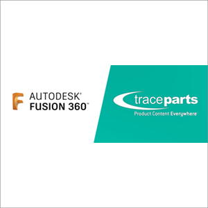 Autodesk Fusion 360 Now Includes TraceParts Engineering Catalogs